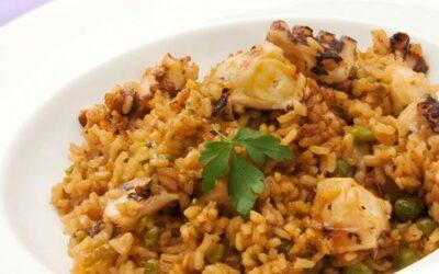 Restaurante Marisco Vigo: No puede faltar en tu mesa el arroz con pulpo